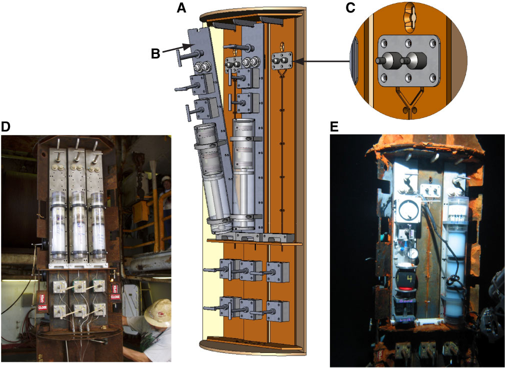 Proc  IODP, 327, Fluid sampling from oceanic borehole