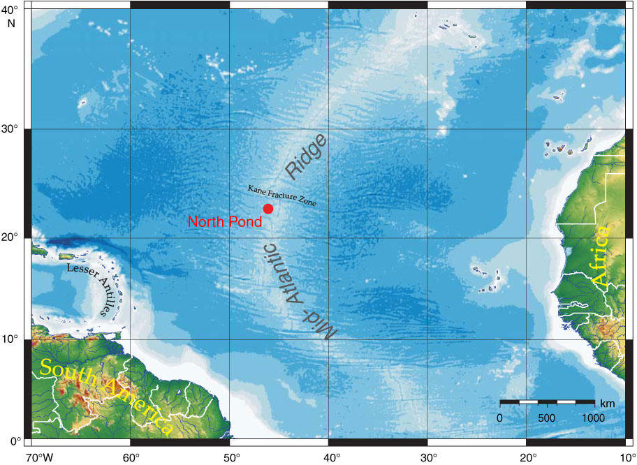 Proc Iodp 336 Geophysical Site Survey Results From North Pond
