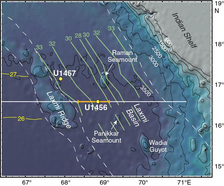 IODP Publications • Volume 355 expedition reports • Site U1456