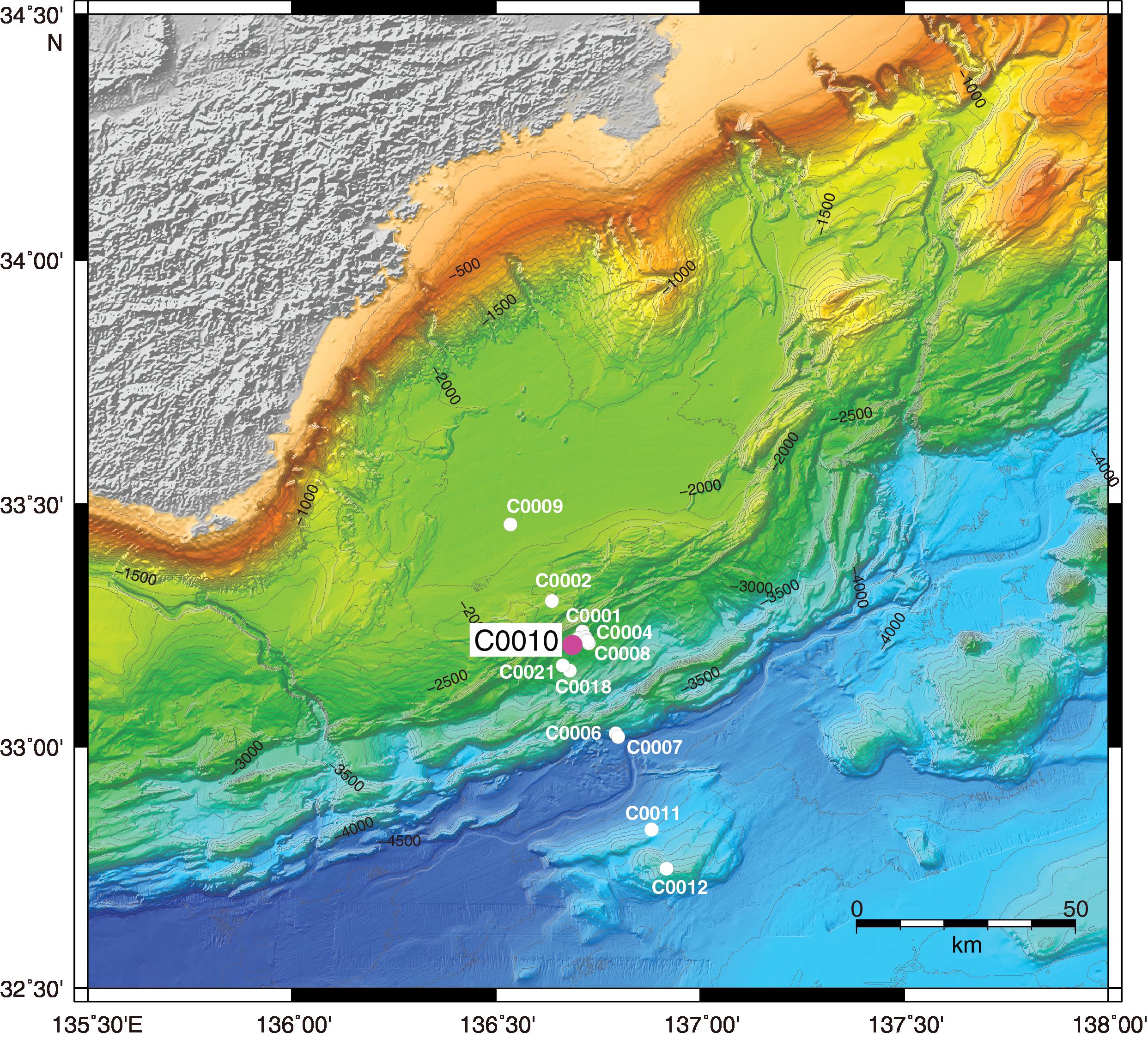 CDEX • Proc  IODP, Expedition 365, NanTroSEIZE Stage 3