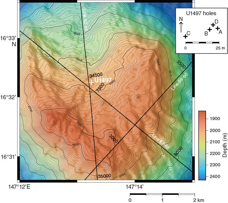 IODP Publications • Volume 366 expedition reports • Site U1497