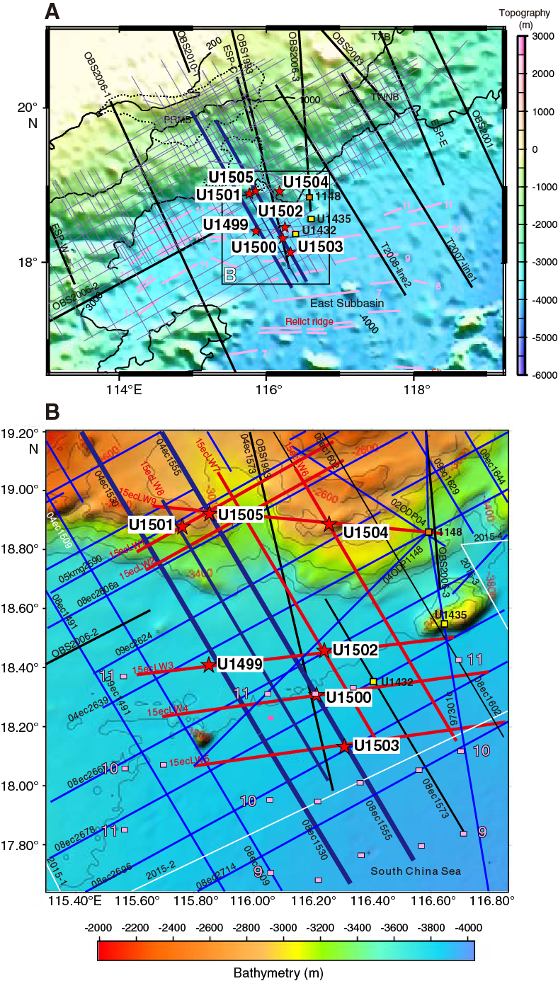 Iodp Publications Volume 367 368 Expedition Reports Site U1502 Mechanics Shear Force And Bending Moment Diagrams Using Matlab Northern Scs Margin With Seismic Coverage