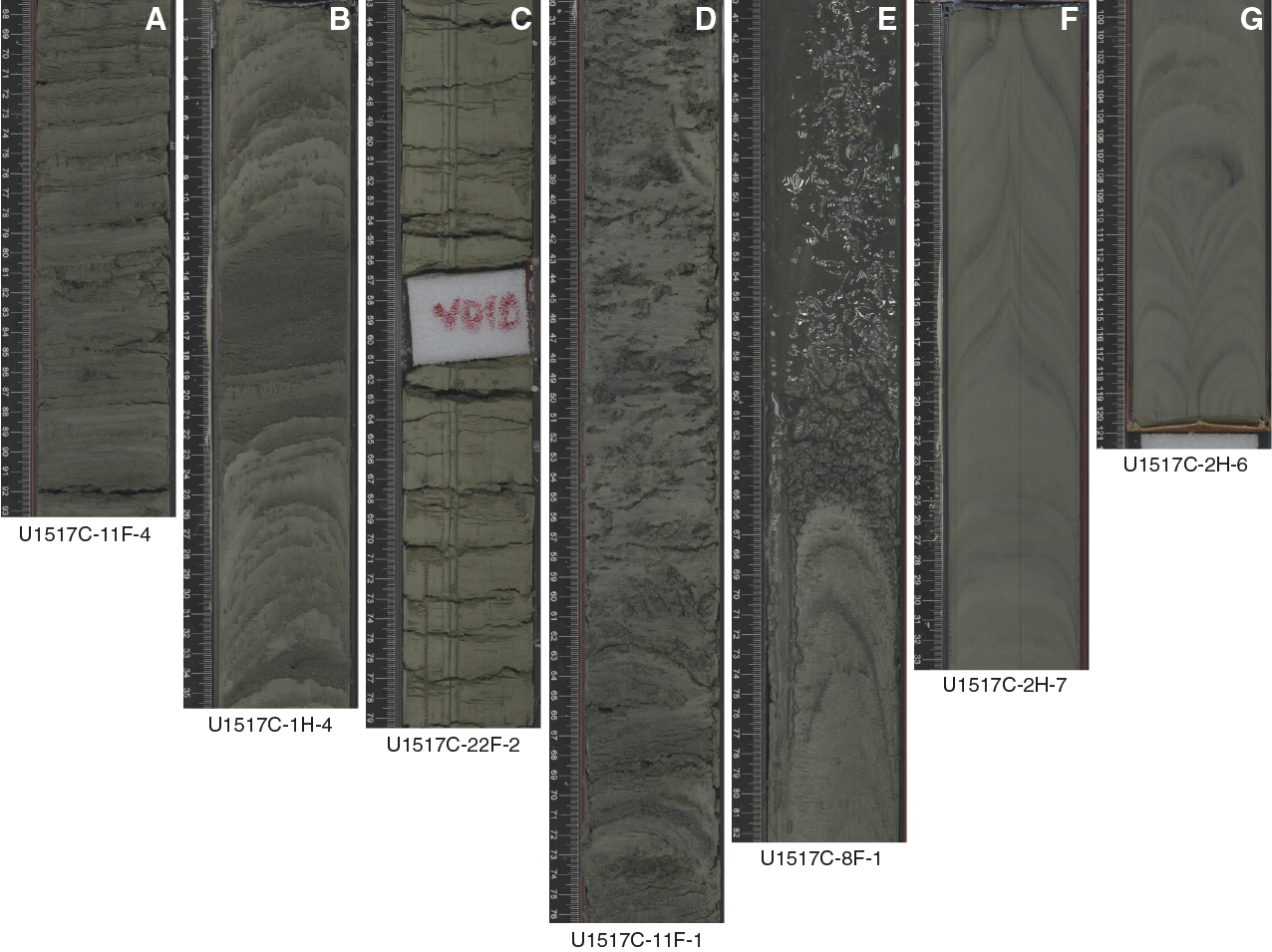 IODP Publications • Volume 372A expedition reports • Site U1517