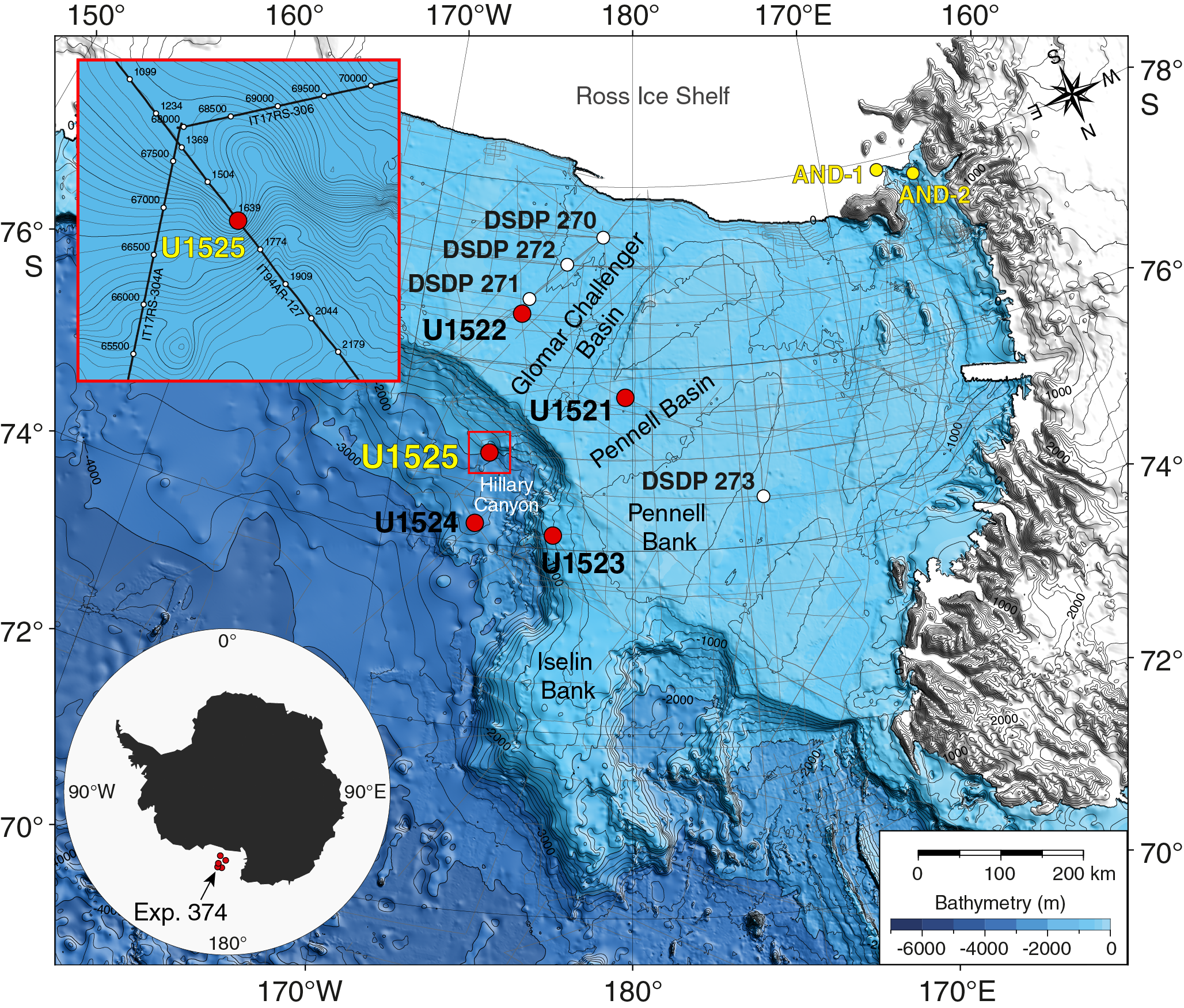IODP Publications • Volume 374 expedition reports