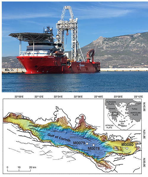 IODP ESO • Proc  IODP, Expedition 381, Corinth Active Rift